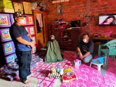 Berikan Dukungan dan Semangat, Warga Isoman Apresiasi Kepedulian Pemdes Ngulak II
